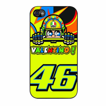 Valentino Rossi The Doctor 46 Logo iPhone 4s Case