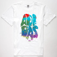 Adidas Glazed Out Mens T-Shirt White  In Sizes