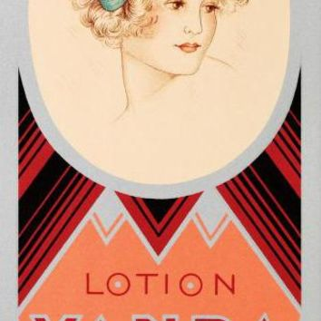 Rimmel-Lotion Vanda - Limited Edition Hand Pulled Lithograph on Paper by the RE Society