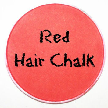 Red Hair Chalk