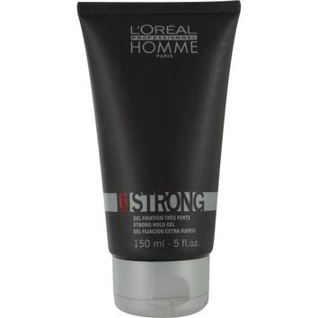 L'Oreal By L'Oreal Homme 6 Force Strong Hold Gel 5 Oz