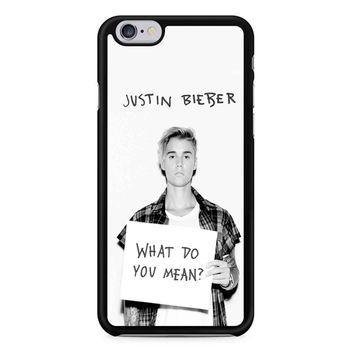 Justin Bieber What Do You Mean iPhone 6/6S Case