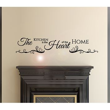 Vinyl Wall Decal Inscription Kitchen Home Quote Stickers Mural 36 in x7 in gz008