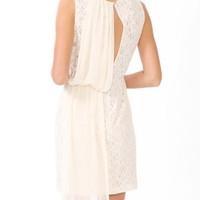 Chiffon Overlay Lace Dress | FOREVER 21 - 2030508860