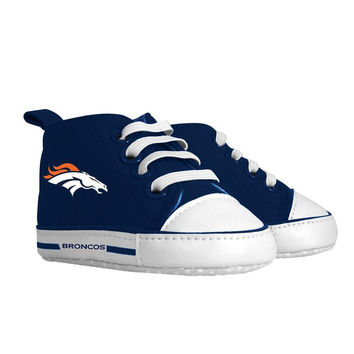 Denver Broncos NFL Infant High Top Shoes