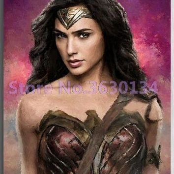 5D Diamond Painting Wonder Woman Kit