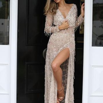 Florence Sequin Gown
