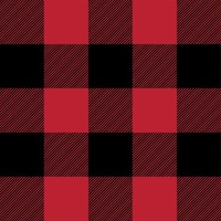 buffalo plaid || the happy camper collection fabric - littlearrowdesign - Spoonflower