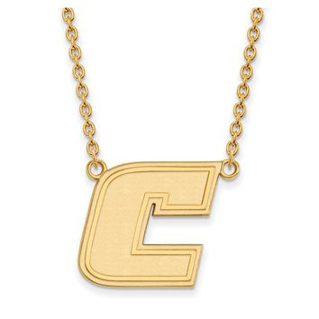 NCAA 14k Yellow Gold U of Tennessee at Chattanooga Lg Pendant Necklace
