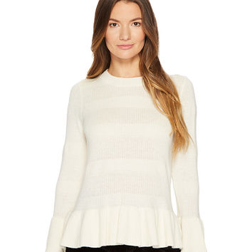 Kate Spade New York Textured Bell Sleeve Sweater