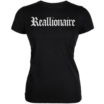 Compton Reallionaire Black Juniors Soft T-Shirt
