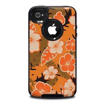 The Orange and Pink Candy Sprinkles Skin for the iPhone 4-4s OtterBox Commuter Case