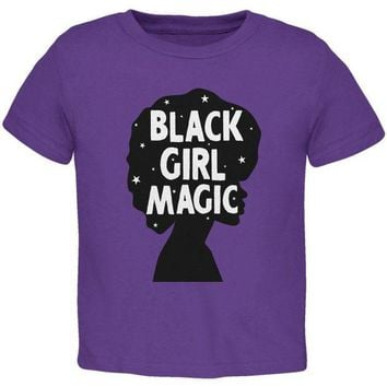 DCCKU3R Black History Month Black Girl Magic Afro Toddler T Shirt