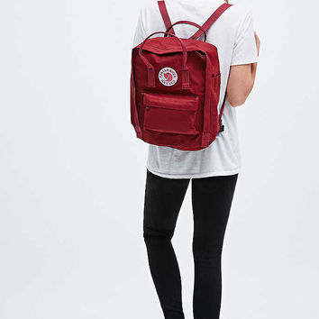 Fjallraven Kanken Classic Ox Red Backpack - Urban Outfitters