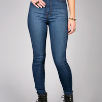 Expression High Waist Skinnys | Trendy Denim at Pink Ice