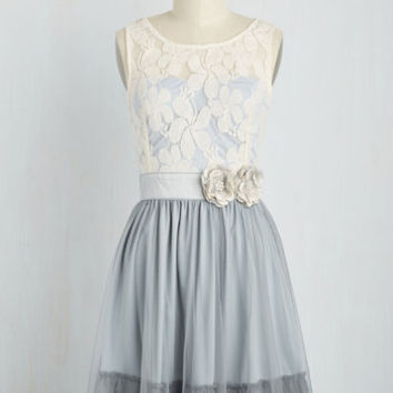 Ryu Home Sweet Scone A-Line Dress in Earl Grey | Mod Retro Vintage Dresses | ModCloth.com