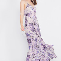 Purple Kaleidoscope Maxi Dress