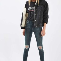 MOTO Denim Western Oversized Jacket
