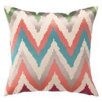 DL Rhein Faultline Embroidered Pillow