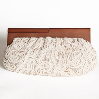 gwendolyn lace clutch - $36.99 : ShopRuche.com, Vintage Inspired Clothing, Affordable Clothes, Eco friendly Fashion