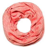 Tory Burch Stacked-'t' Jacquard Infinity Scarf