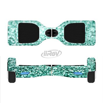 The Tiffany Green Glimmer Full-Body Skin Set for the Smart Drifting SuperCharged iiRov HoverBoard