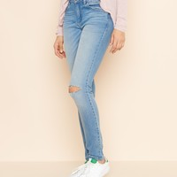 Soho Blue High Waist Jegging