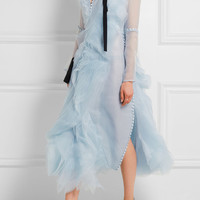 Erdem - Ivonne ruffled silk-organza dress