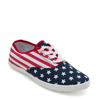 American-Flag-Canvas-Sneakers FLAGPRINT - GoJane.com