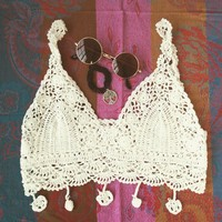 Poppy crochet bralet by OCswimwear and clothing
