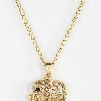 Urban Outfitters - Little Coco Elephant Necklace