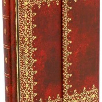 BARNES & NOBLE | Red Antiquarian Foil Journal 7x9 by Hartley & Marks, Incorporated, Paperblank Book Company