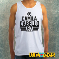 Camila Cabello Fifth Harmony Clothing Tank Top For Mens