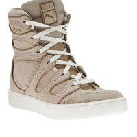 Puma Black Label By Alexander Mcqueen 'Husska' Lace-Up Trainer