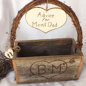 Advice For Mom And Dad - Advice Box- Gender Reveal