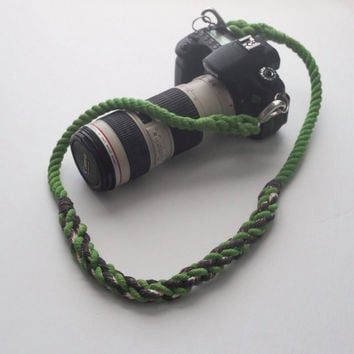 Rope Camera Strap //  Camera Strap // Custom Camera Strap // DSLR or point and shoot