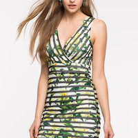 Tropic Jungle Bodycon Dress