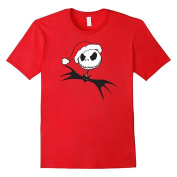 Disney Nightmare Before Christmas Santa Hat T-Shirt