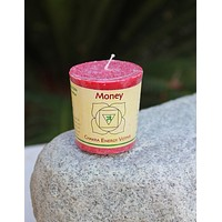 Votive Money Candle