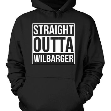 Straight Outta Wilbarger County. Cool Gift - Hoodie