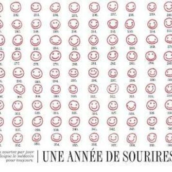 Une annee de sourires 85 x 11 by evajuliet on Etsy