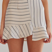 J.O.A. Asymmetrical Hem Mini Skirt | Urban Outfitters