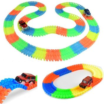 Glow Track Racing Car Set