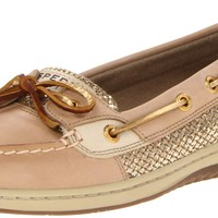 Sperry Women's Angelfish, Linen/Gold Glitter, 8.5 M Womens