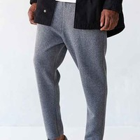 Your Neighbors Double Faced Knit Trouser- Charcoal