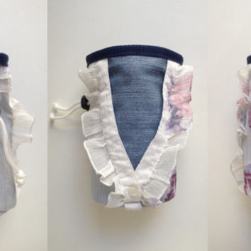 Denim and Lace rock climbing chalk bags
