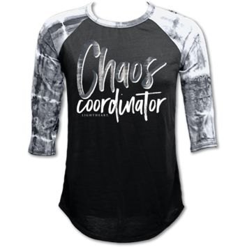 Couture Lightheart Chaos Coordinator Raglan Long Sleeve T-Shirt