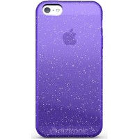 Diztronic Purple GlitterFlex TPU Case for Apple iPhone 5 - 2012 Model (Verizon / Sprint / AT&T / All Carriers)