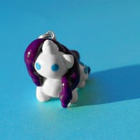 Rarity MLP Charm (Ready to Ship)