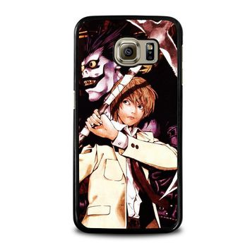 DEATH NOTE RYUK AND LIGHT Samsung Galaxy S6 Case Cover